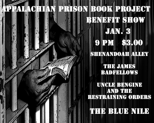 Harrisonburg Benefit Flyer
